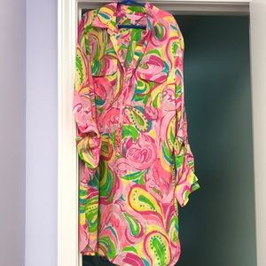 Lily Pulitzer beach coverup!!